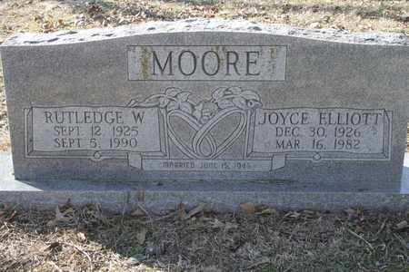 MOORE, RUTHLEDGE W - Bowie County, Texas | RUTHLEDGE W MOORE - Texas Gravestone Photos