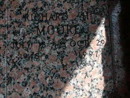 MOORE, RICHARD H - Bowie County, Texas   RICHARD H MOORE - Texas Gravestone Photos