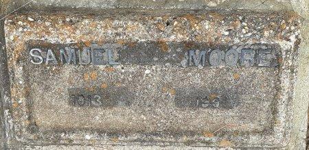 MOORE, SAMUEL (CLOSEUP) - Bowie County, Texas | SAMUEL (CLOSEUP) MOORE - Texas Gravestone Photos