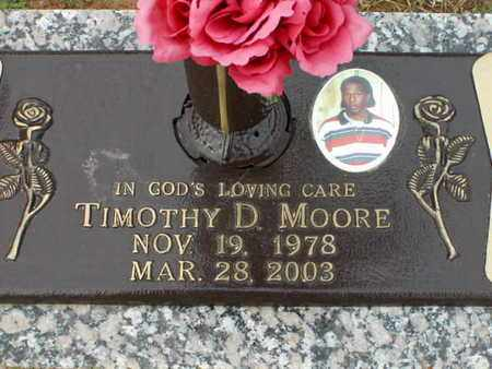 MOORE, TIMOTHY D - Bowie County, Texas   TIMOTHY D MOORE - Texas Gravestone Photos