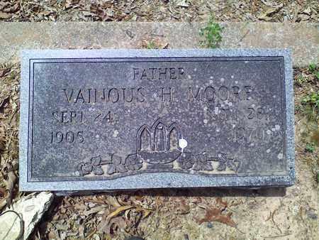 MOORE, VAINOUS - Bowie County, Texas | VAINOUS MOORE - Texas Gravestone Photos