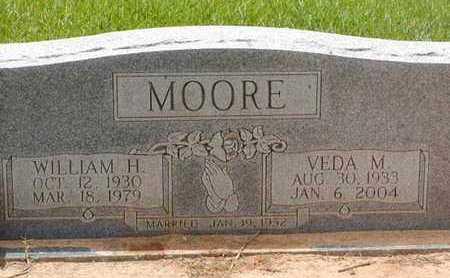 MOORE, VEDA M - Bowie County, Texas | VEDA M MOORE - Texas Gravestone Photos