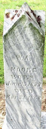 MOORE, W.A. - Bowie County, Texas | W.A. MOORE - Texas Gravestone Photos