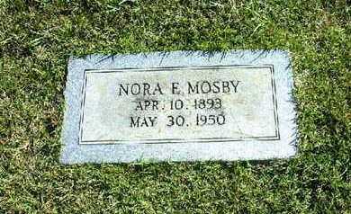 MOSBY, NORA E - Bowie County, Texas   NORA E MOSBY - Texas Gravestone Photos