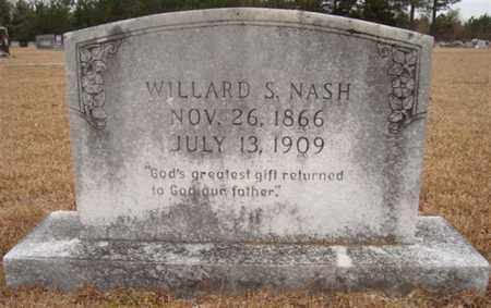 NASH, WILLARD S - Bowie County, Texas | WILLARD S NASH - Texas Gravestone Photos