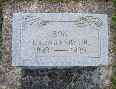 OGLESBY, JR, J T - Bowie County, Texas | J T OGLESBY, JR - Texas Gravestone Photos