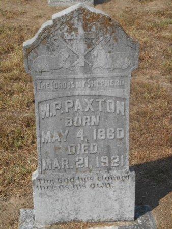 PAXTON, W. P. - Bowie County, Texas | W. P. PAXTON - Texas Gravestone Photos