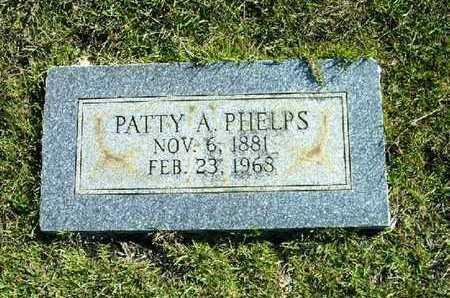 PHELPS, PATTY A - Bowie County, Texas | PATTY A PHELPS - Texas Gravestone Photos