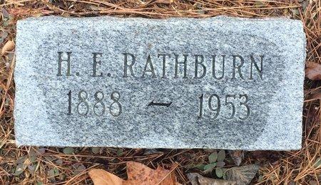 RATHBURN, H. E. - Bowie County, Texas | H. E. RATHBURN - Texas Gravestone Photos