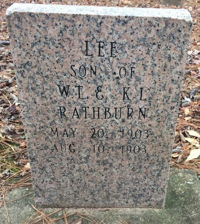 RATHBURN, LEE - Bowie County, Texas | LEE RATHBURN - Texas Gravestone Photos
