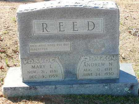 REED, MARY L - Bowie County, Texas | MARY L REED - Texas Gravestone Photos