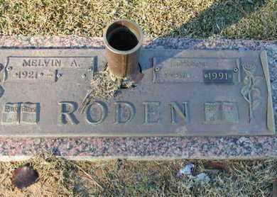 RODEN, LORENE T - Bowie County, Texas   LORENE T RODEN - Texas Gravestone Photos