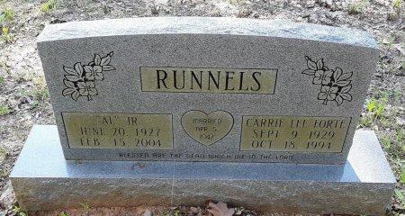 RUNNELS, JR, AL - Bowie County, Texas   AL RUNNELS, JR - Texas Gravestone Photos