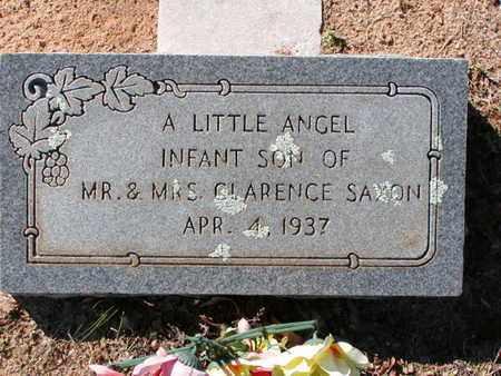 SAXON, INFANT SON - Bowie County, Texas | INFANT SON SAXON - Texas Gravestone Photos