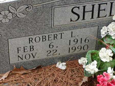 SHELTON, ROBERT L  (CLOSEUP) - Bowie County, Texas   ROBERT L  (CLOSEUP) SHELTON - Texas Gravestone Photos