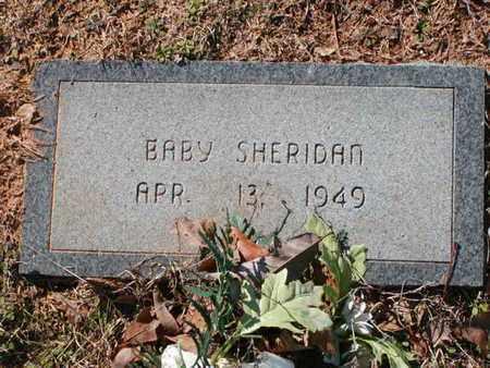 SHERIDAN, BABY - Bowie County, Texas | BABY SHERIDAN - Texas Gravestone Photos