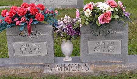 SIMMONS, ARTHUR P - Bowie County, Texas | ARTHUR P SIMMONS - Texas Gravestone Photos