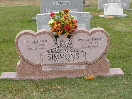 SIMMONS, OVELLA - Bowie County, Texas | OVELLA SIMMONS - Texas Gravestone Photos