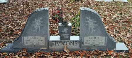 SIMMONS, LILLIE E - Bowie County, Texas | LILLIE E SIMMONS - Texas Gravestone Photos