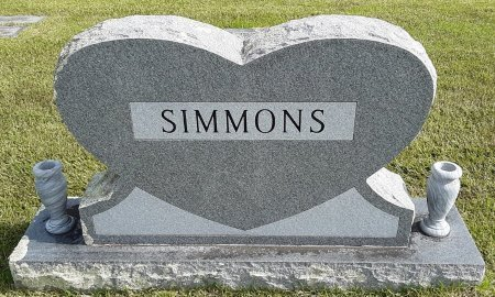 SIMMONS, FAMILY MARKER - Bowie County, Texas | FAMILY MARKER SIMMONS - Texas Gravestone Photos