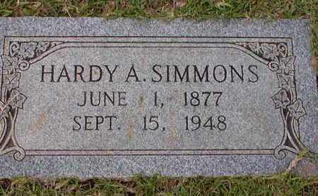 SIMMONS, HARDY A - Bowie County, Texas | HARDY A SIMMONS - Texas Gravestone Photos
