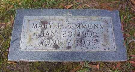SIMMONS, MARY E - Bowie County, Texas | MARY E SIMMONS - Texas Gravestone Photos