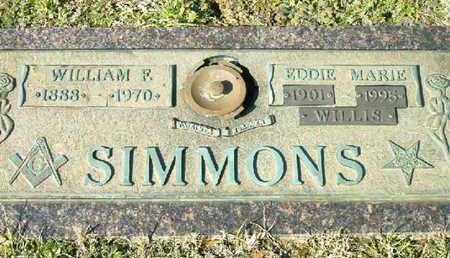 SIMMONS, EDDIE MARIE - Bowie County, Texas | EDDIE MARIE SIMMONS - Texas Gravestone Photos