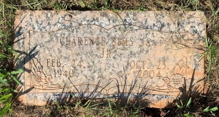 SIMS, JR, CLARENCE - Bowie County, Texas | CLARENCE SIMS, JR - Texas Gravestone Photos