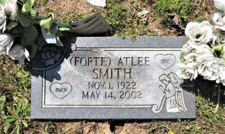 SMITH, ATLEE - Bowie County, Texas | ATLEE SMITH - Texas Gravestone Photos