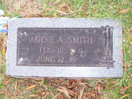 SMITH, ADDIE A - Bowie County, Texas   ADDIE A SMITH - Texas Gravestone Photos