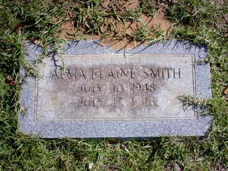 SMITH, ALMA ELAINE - Bowie County, Texas | ALMA ELAINE SMITH - Texas Gravestone Photos