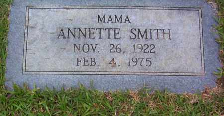 SMITH, ANNETTE - Bowie County, Texas | ANNETTE SMITH - Texas Gravestone Photos