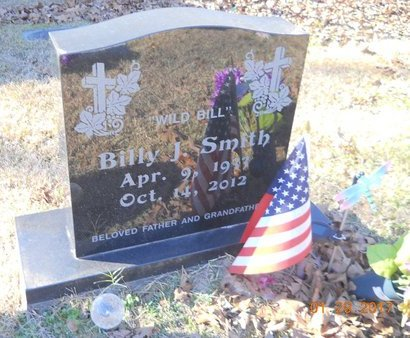 SMITH, BILLY JAMES (OBIT) - Bowie County, Texas | BILLY JAMES (OBIT) SMITH - Texas Gravestone Photos