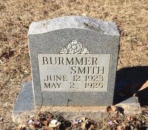 SMITH, BURMMER - Bowie County, Texas | BURMMER SMITH - Texas Gravestone Photos