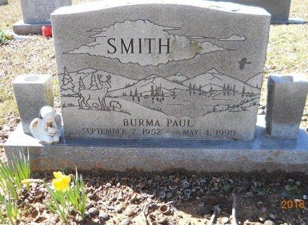 SMITH, BURMA PAUL - Bowie County, Texas   BURMA PAUL SMITH - Texas Gravestone Photos