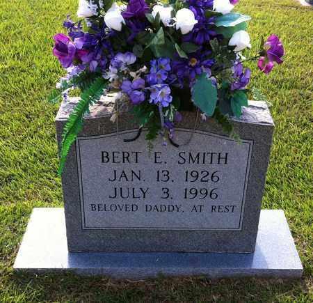 SMITH, BERT E - Bowie County, Texas | BERT E SMITH - Texas Gravestone Photos
