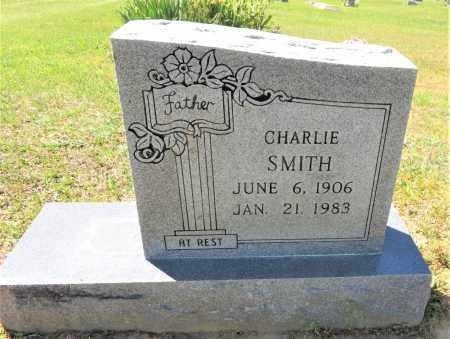 SMITH, CHARLIE - Bowie County, Texas | CHARLIE SMITH - Texas Gravestone Photos