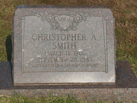 """SMITH, CHRISTOPHER A. """"CHRIS"""" - Bowie County, Texas 
