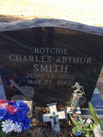 SMITH, CHARLES ARTHUR - Bowie County, Texas   CHARLES ARTHUR SMITH - Texas Gravestone Photos