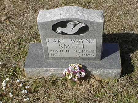 SMITH, CARL WAYNE - Bowie County, Texas | CARL WAYNE SMITH - Texas Gravestone Photos