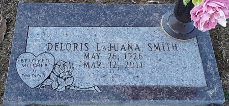 SMITH, DELORIS LAJUANA - Bowie County, Texas | DELORIS LAJUANA SMITH - Texas Gravestone Photos