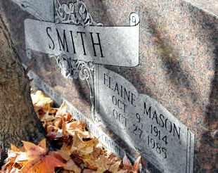 SMITH, ELAINE (CLOSEUP) - Bowie County, Texas   ELAINE (CLOSEUP) SMITH - Texas Gravestone Photos