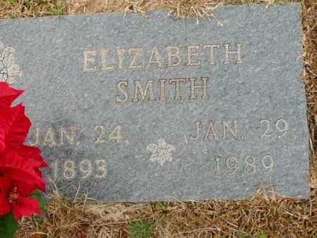SMITH, ELIZABETH - Bowie County, Texas   ELIZABETH SMITH - Texas Gravestone Photos