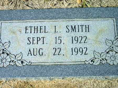 SMITH, ETHEL L - Bowie County, Texas | ETHEL L SMITH - Texas Gravestone Photos