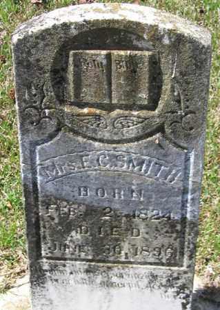SMITH, E C, MRS - Bowie County, Texas   E C, MRS SMITH - Texas Gravestone Photos