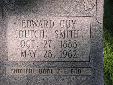 SMITH, EDWARD GUY (DUTCH) - Bowie County, Texas   EDWARD GUY (DUTCH) SMITH - Texas Gravestone Photos