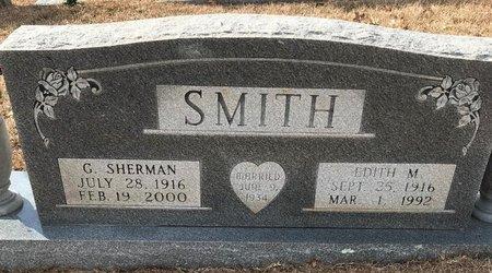 SMITH, EDITH M - Bowie County, Texas | EDITH M SMITH - Texas Gravestone Photos