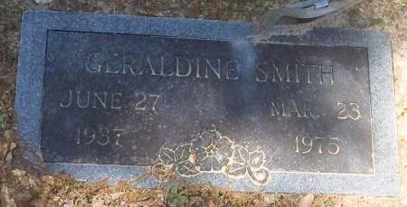 SMITH, GERALDINE - Bowie County, Texas | GERALDINE SMITH - Texas Gravestone Photos