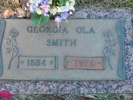 SMITH, GEORGIA OLA - Bowie County, Texas | GEORGIA OLA SMITH - Texas Gravestone Photos