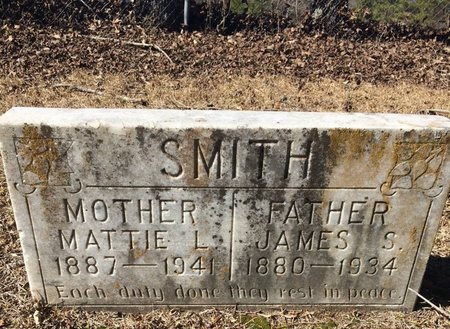 SMITH, JAMES S. - Bowie County, Texas | JAMES S. SMITH - Texas Gravestone Photos
